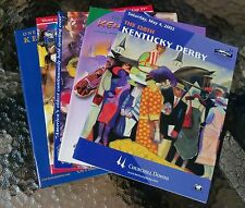 BUY ANY KENTUCKY DERBY PROGRAM - $2.00 EACH - MORE AVAILABLE THAN PICTURE SHOWS