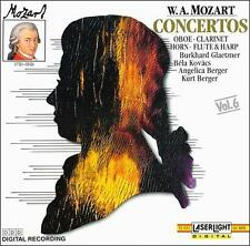 Audio CD W.A. Mozart: Concertos (Oboe, Clarinet, Horn, Flute, and Harp)   VeryGo