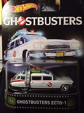 Ghostbusters Ecto1 Cadillac Miller Meteor Ambulance Hearse Real Rider Rubber MIP