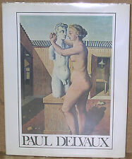 Paul Delvaux by Antoine Terrasse-First Printing/DJ-1978-Illustrated