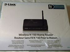 D-Link N150 Home 150 Mbps 4-Port 10/100 Wireless N Router (DIR-601)
