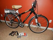 SCHWINN WORLD GSE ELECTRIC MEN'S BIKE (700c) (Modified to work w/24 v battery)
