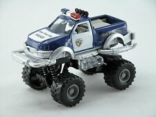 1:32 Big wheel pickup Police Car *light & Sound* (Blue) Die Cast Car Boys Toy