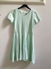 H&M Mint Green  Skater Dress Size L
