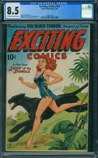 EXCITING COMICS 61 CGC - OW/W PAGES - SCHOMBURG COVER