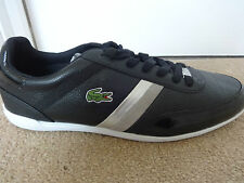 Lacoste Sport Giron SLX shoes trainers black leather uk 8 eu 42 us 9 new