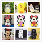 Newest Cute 3D Cartoon Silicone Rubber Soft Case for iPhone 4 4S 6 6s Plus 5S 5C