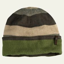 Timberland Men's Striped Reversible Winter Green Acrylic Beanie Style TC126