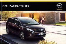 Opel Zafira Tourer 07 / 2014 catalogue brochure