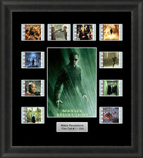 MATRIX REVOLUTIONS FRAMED FILM CELL MEMORABILIA REEVES FILM CELLS