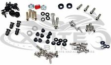Fairing bolts kit, stainless steel, Suzuki SV650 SV1000 2003-2009 #BT169#