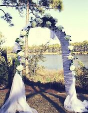 """Wedding Arch 90"""" Metal Arch Wedding Party Decoration - Free Expedited Shipping"""