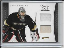 11-12 Luxury Suite Jonas Hiller Jersey and Stick # 12