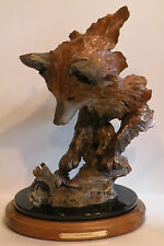 """Mill Creek Studios Refined """"OUTFOXED"""" Limited Edition # 84/950 Bronze Powder"""