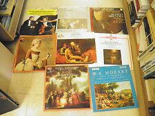 coffret de 8 vinyles 33 tours Mozart