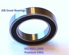 (2) 6906-2RS Premium seal 6906 2rs bearing 6906 ball bearings 6906 RS ABEC3
