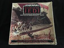 Star Wars Return Of The Jedi Battle At Sarlacc's Pit Game 1983 Boxed