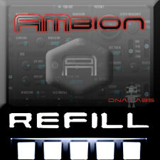 REASON REFILLS AMBION DIGITAL TRAP SYNTHESIZER SOUND BANK WITH PREVIEW