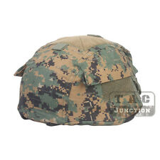 Emerson Tactical ACH MICH Helmet Cover with Pouch for ACH MICH TC- 2002 Helmet