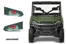 AMR Racing Polaris Ranger 570/900 Eye Decals Headlight Stickers 13-16 NIGHTMARE