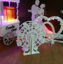 CANDY CART FERRIS WHEEL CANDY BAR FOR SALE FLAT PACK NEW