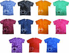 Tie Dye T Shirts New Paw Print Multi Colors Variation Size Youth XS to Adult 3XL