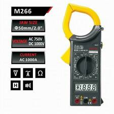 MASTECH DIGITAL AC CLAMP METER AC DC Ammeter MULTIMETER  | M266 CLAMPMETER