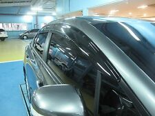 Wind Deflector RAIN GUARD WINDOW VISOR MUGEN Style HONDA CIVIC 9TH 4DR SALOON