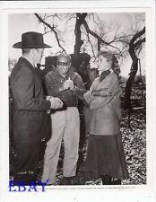 Director John Sturges Burt Lancaster Rhonda Fleming VINTAGE Photo candid on set