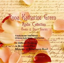 CD - Anna Katharine Green Collection - 3 Audio + 25 Bonus Audio Books