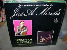 HERMANOS MARTINEZ las canciones mas lindas de jose morales ( world music )