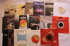 Job Lot 15 x Classic Rock singles-All Listed- Kiss,Foghat,Hawkwind,Santana,Queen