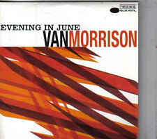 Van Morrison-Evening In June Promo cd single