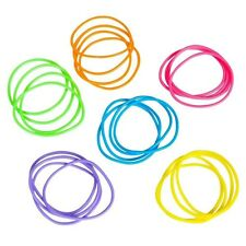 144 Jelly Bracelets Rainbow Neon Colorful Birthday Party Favors Gifts Prizes Toy