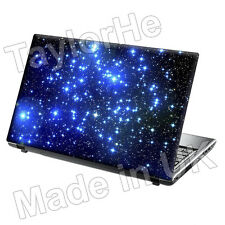 SKIN laptop COVER NOTEBOOK Adesivo Decalcomania Stelle Notte
