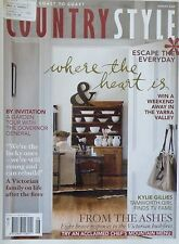 Country Style Magazine August 2009 - Where the Heart Is