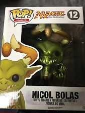 Nicol Bolas #12 Magic Funko Pop 6 Inch Metallic Vinyl Rare Collectible MTG 6""