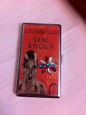 Josephine Baker Sans Amour Mirror Tissue Cigarette Business Credit Card Case
