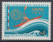 Österreich Austria 1977 ** Mi.1555 Wildwasser-Kanuslalom Canoe