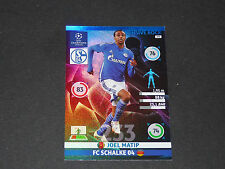MATIP DEFENSIVE ROCK SCHALKE 04 UEFA PANINI FOOTBALL CHAMPIONS LEAGUE 2014 2015