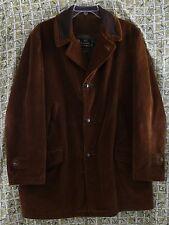 Vtg Oakbrook Sportswear Men's 46L Brown Corduroy Coat Acrilan Sears & Roebuck