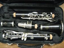 SUPERB 17 KEY / 7 RING BUFFET-CRAMPON (Paris) 1950 CLARINET, no cracks,new pads.