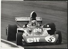 JACKIE STEWART ELF TEAM TYRRELL FORD 006 1973 F1 GP ORIGINAL PERIOD PHOTOGRAPH