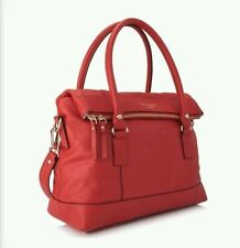 NWT KATE SPADE NEW YORK Fremont Place Carmen Leather bag, Gazpacho Red $448