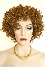 Strawberry Blonde Red Short Curly Wigs