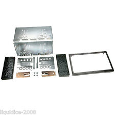 CT23SK02A SKODA OCTAVIA 1999 to 2004 BLACK DOUBLE DIN FASCIA ADAPTER FITTING KIT