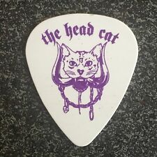 OFFICIAL HEADCAT Guitar Pick - Danny B Harvey - Lemmy Kilmister Last 10 Picks