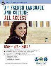 REA AP French Language and Culture All Access test prep book 2013 edition