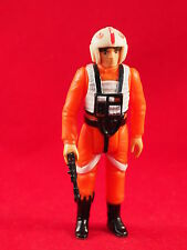 Vintage Star Wars Luke Skywalker X Wing Pilot Figure Complete w/ Weapon