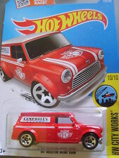 HOT WHEELS - HW CITY WORKS - '67 AUSTIN MINI VAN - 175/250 - MOC